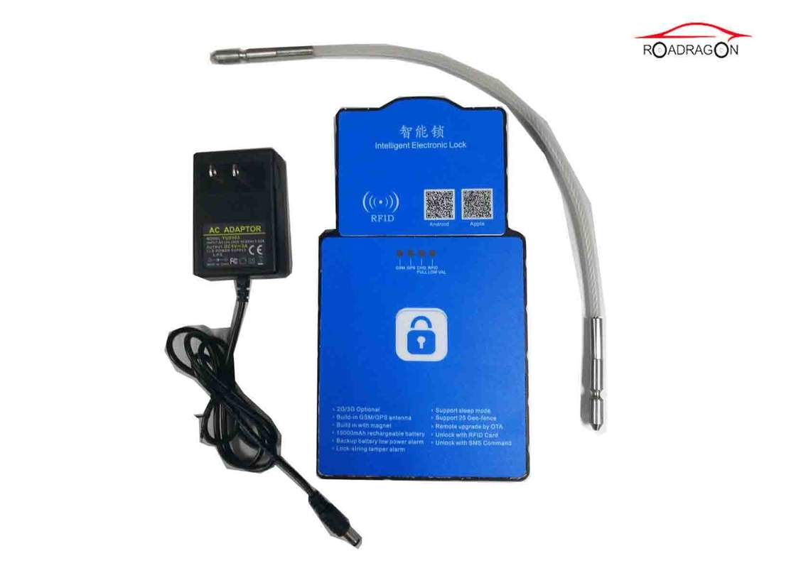 Logistic Security Gps Tracking Padlock SMS Theft Prevention Asset Management