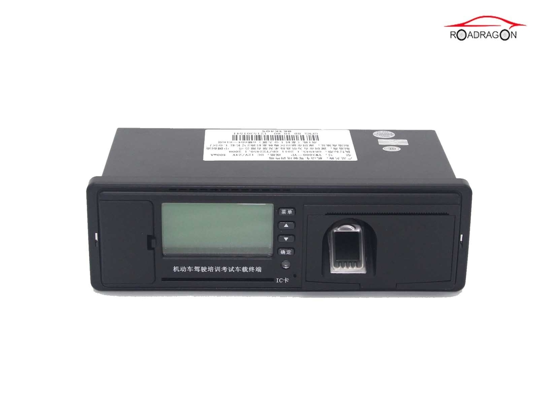 Fingerprint Fuel Monitoring Manual Entry Digital Tachograph CAN Bus Intelligent Terminal