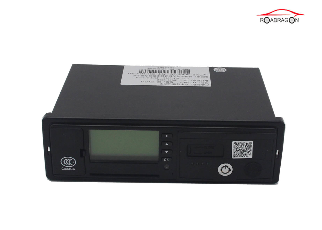 Bus Module GPS Electronic Tachograph Vehicle Video Monitor SD Card Lock Meter Tracker