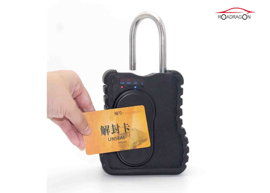 Realtime Security Van Gps Tracking Padlock NFC RFID Logistic Asset Management
