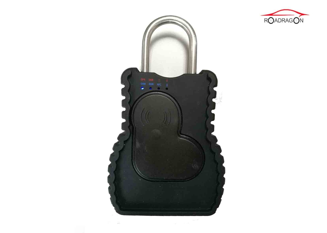 Remote Control GPS Tracking Padlock Secured Cargo Transport SMS Command Padlock